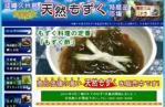 沖縄久米島天然もずく特産品市場 …ホームページ制作(web製作)実績